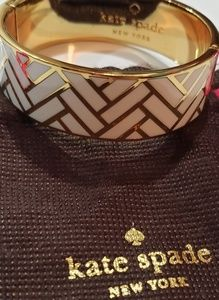 Kate spade BANGLE Bracelet white/Gold